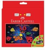 Set cadou Carioci Connector 3D Art 6 buc/set Faber-Castell