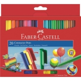 Carioca Connector 20 culori Faber-Castell