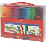 Carioca 60 culori Connector cutie cadou Faber-Castell