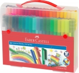 Carioca Connector 80 Culori cutie cadou Faber-Castell