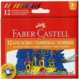 Guase, 15 ml, 12 culori/set Faber-Castell