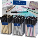 Display Pitt Artist Pen Metalic 3 x 30 buc Faber-Castell