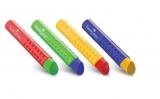 Radiera cu protectie grip diverse culori Faber-Castell