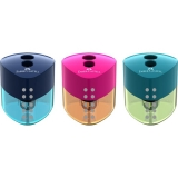 Ascutitoare plastic dubla Grip Trend Faber-Castell