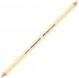 Radiera creion Perfection, 1/2 radiera roz, 1/2 radiera alba Faber-Castell