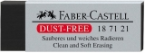 Radiera creion 7121 Dust Free Neagra Faber-Castell