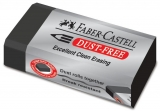 Radiera creion Dust Free 7171 neagra Faber-Castell