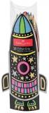 Set cadou Racheta 10 creioane Grip neon si metalizate Faber-Castell