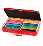Cutie metal 300 creioane colorate Grip Faber-Castell