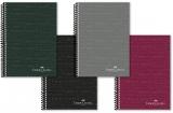 Caiet spira A4, 80 file, matematica, culori clasice Faber-Castell