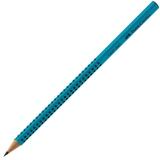 Creion grafit B Grip 2001 turcoaz Faber-Castell
