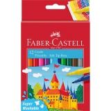 Carioci superlavabile 2021, 12 buc/set Faber-Castell