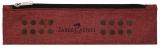 Etui instrumente de scris grip rosu Faber-Castell