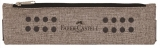 Etui instrumente de scris grip melange sand Faber-Castell
