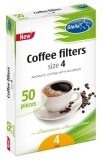 Filtre de cafea nr.4 50 bucati Stella