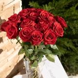 Cutie trandafiri, 11 fire, rosii