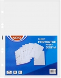 Folii protectie, A5, 100 buc/set Noki