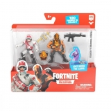 Set 2 figurine, Triage Trooper si Vertex, Fortnite