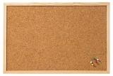 Panou de pluta cu rama de lemn 100 x 60 cm Franken