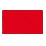 Magnet simbol dreptunghi 10 x 20 mm rosu 56 bucati Franken