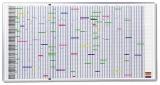 Planner magnetic anual 193 x 100 cm Franken