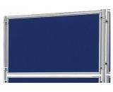 Perete despartitor Eco 120 x 60 cm fetru albastru Franken