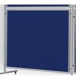 Perete despartitor Eco 120 x 90 cm fetru albastru Franken