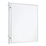Perete despartitor Eco 120 x 150 cm whiteboard Franken