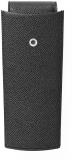 Etui 3 instrumente de scris, piele granulata, negru Graf Von Faber-Castell