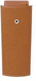 Etui 3 instrumente de scris, piele granulata, maro Graf Von Faber-Castell