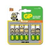 Baterie alcalina Minions R6 (AA) 4+2 buc/blister Ultra GP