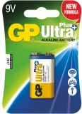 Baterie alcalina 9V, 1 buc/blister, Ultra Plus GP