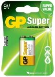 Baterie alcalina, 9V, 1 buc/blister GP