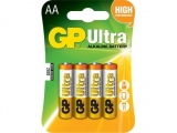 Baterie alcalina R3 (AAA), 4 buc/blister, Ultra GP