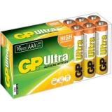 Baterie Alcalina Ultra R3 AAA, 16 buc/set GP