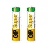 Baterie alcalina R3 (AAA), 2buc/blister, GP