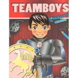 Carte de colorat Teamboys colour - Knights
