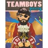 Carte de colorat Teamboys colour - Pirates