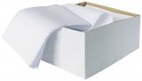 Hartie imprimanta matriciala simpla A3 1 exemplar, alba, 1800 coli/cutie