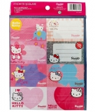 Etichete 40/set Hello Kitty Pigna