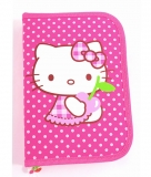 Penar Neechipat 1 fermoar 2 compartimente roz buline Hello Kitty Pigna