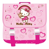 Ghiozdan patrat Hello Kitty