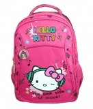 Ghiozdan Clasele 1-4 Hello Kitty the pink side of music Pigna