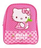 Mini ghiozdan gradinita roz cu buline Hello Kitty Pigna