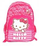 Ghiozdan clasa 0 roz Dungi Hello Kitty Pigna