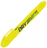 Textmarker Dry Highlighter Twist-Up Yellow Amos