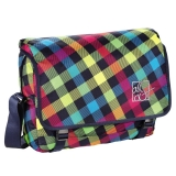 Geanta de umar Barnsley Shoulder Bag Rainbow Check All Out Hama