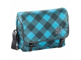 Geanta de umar Barnsley Shoulder Bag Blue Dream Check All Out Hama