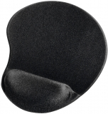 Mousepad cu suport incheietura Ergonomic, negru Hama