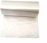 Saci menaj HDPE transparent, 35 L, 50 buc/rola Horeca